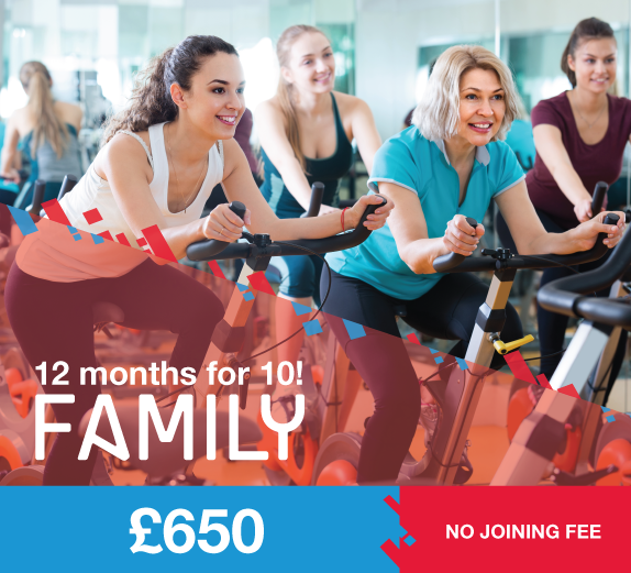 2 months free family fitness membership