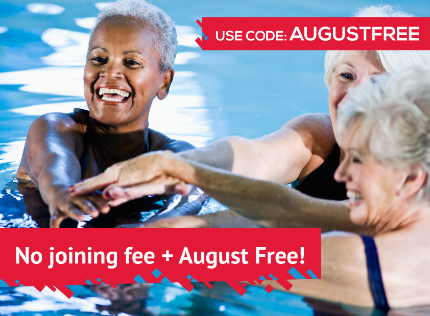 August for free and no joining fee