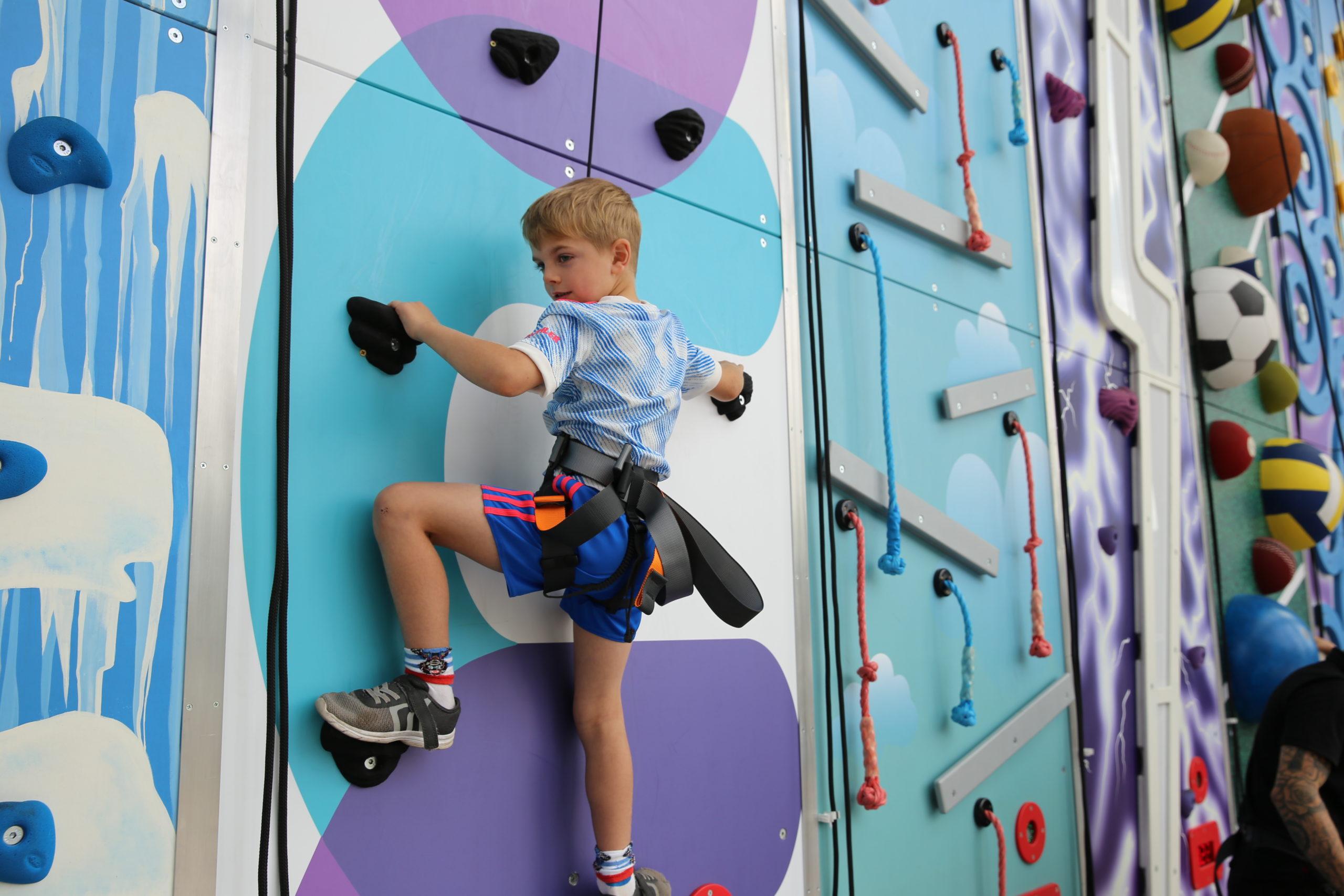 Clip and Climb Wall